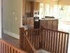 Red Oak handrails, balusters & floors