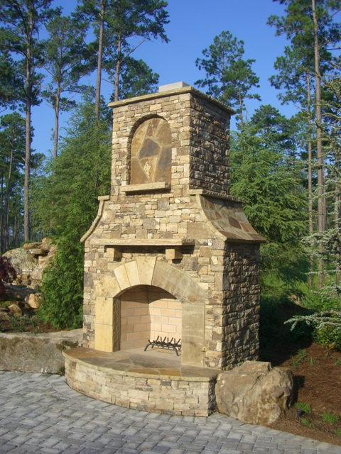 Outdoor Stack Stone 1