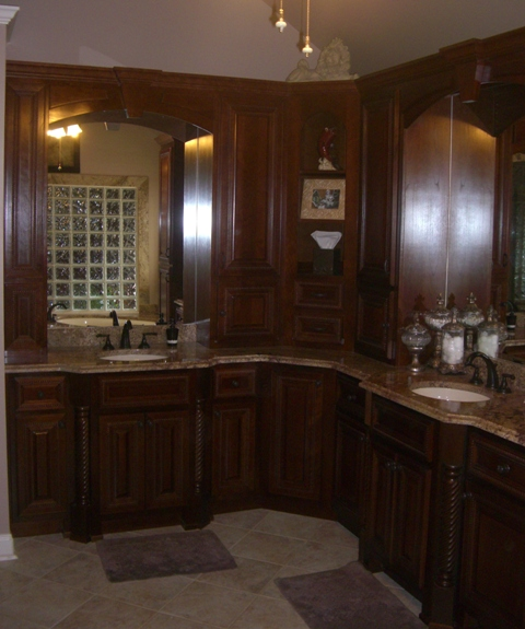 Bathroom Vanity Wood Work