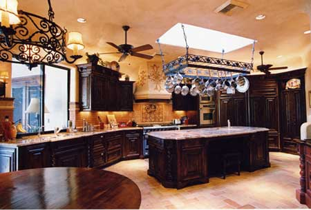 Kitchen on Creating A Tuscan Style Kitchen Tuscan Kitchen 2     Pizazzfloors Com