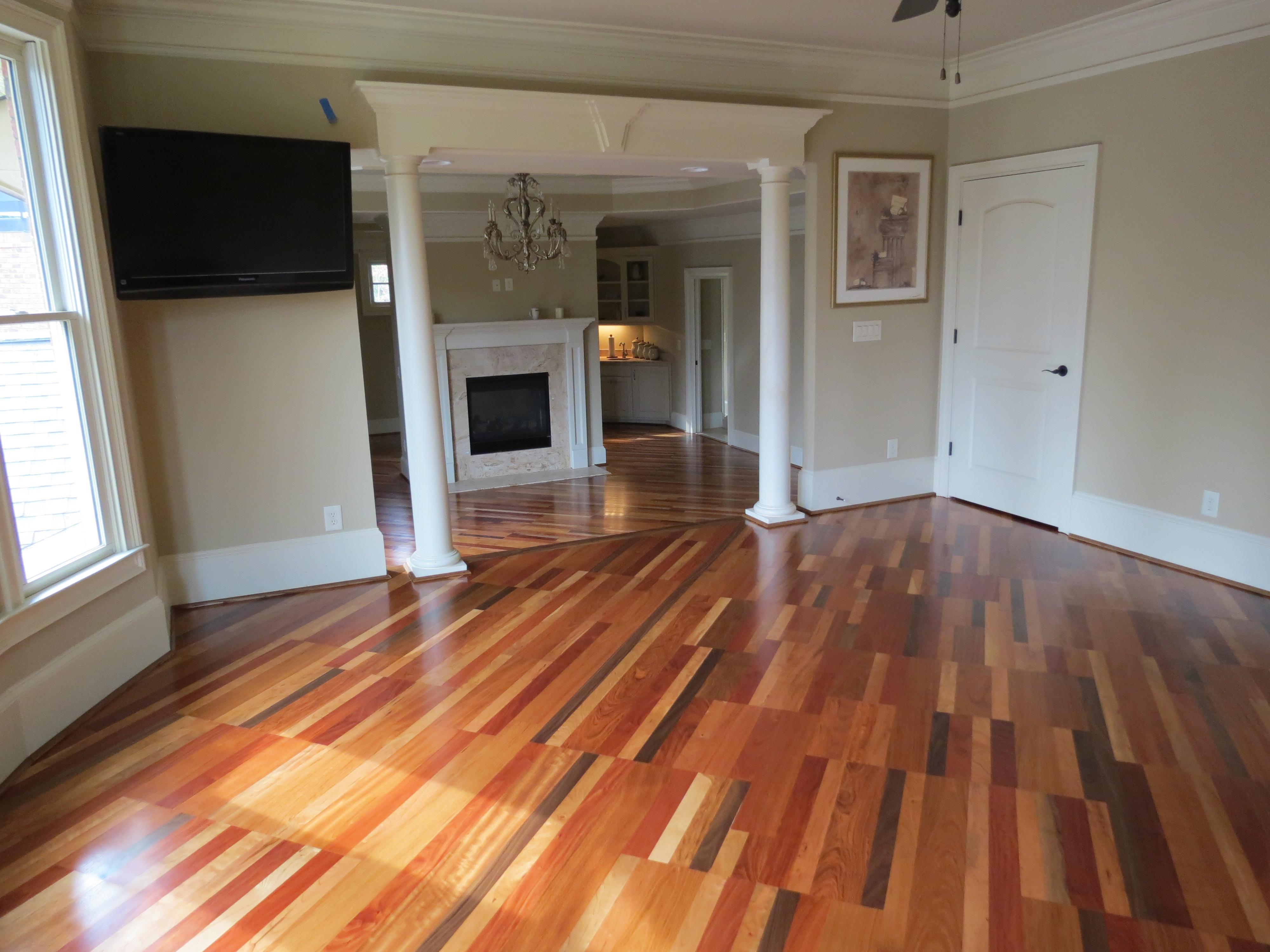 Four Species Hardwood Floor 2
