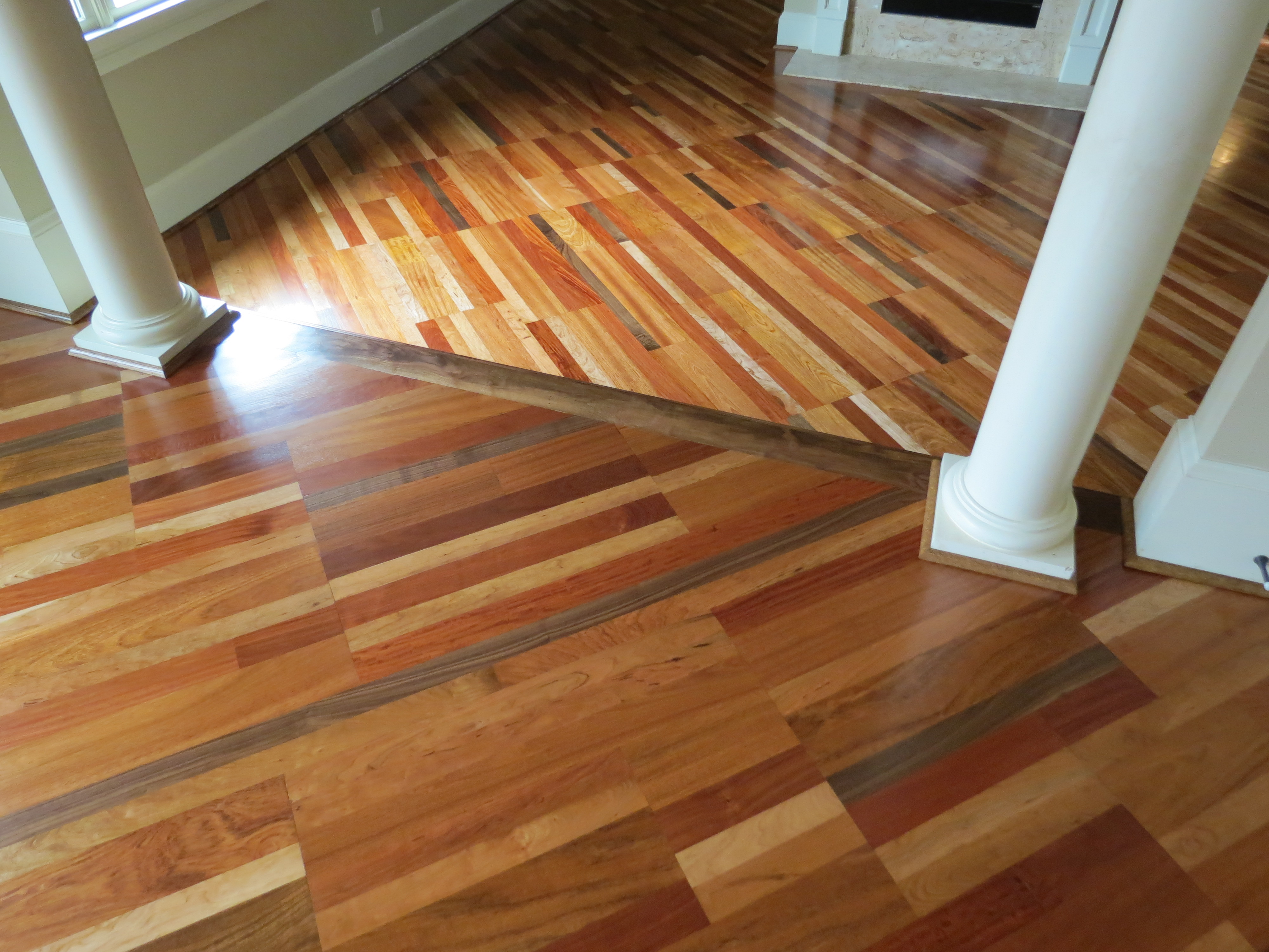 Four Species Hardwood Floor 4